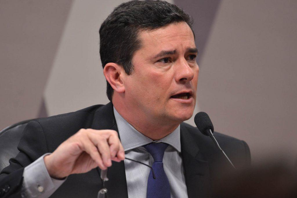 Sérgio Moro fala ao Senado