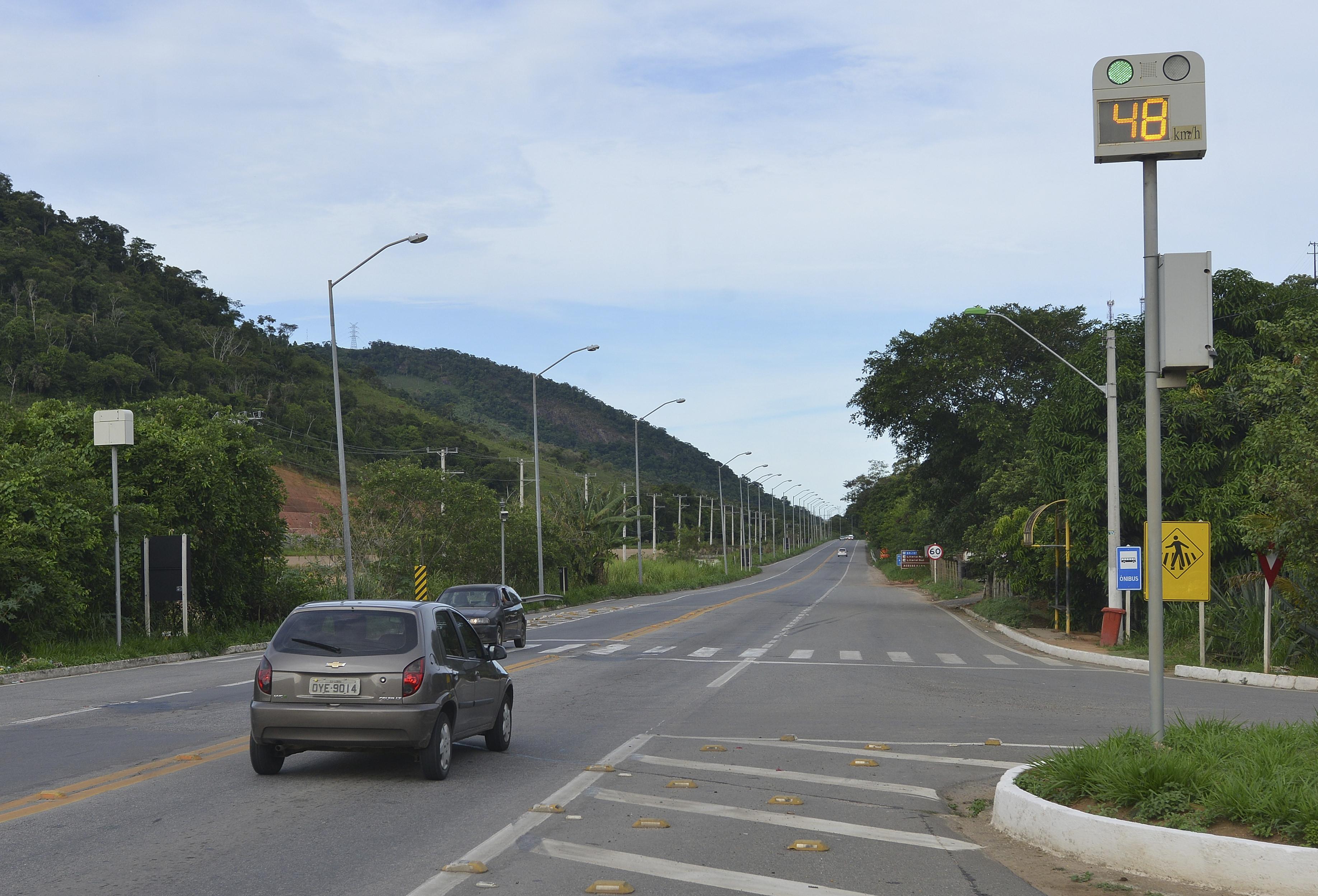 Radar BR-262 em Viana