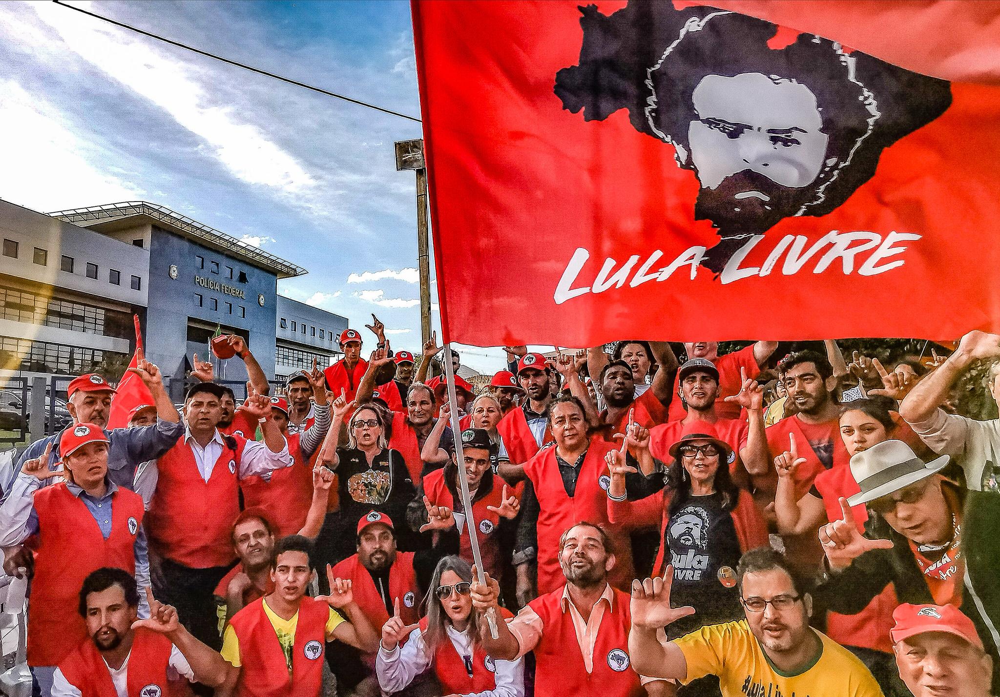 Apoiadores Lula