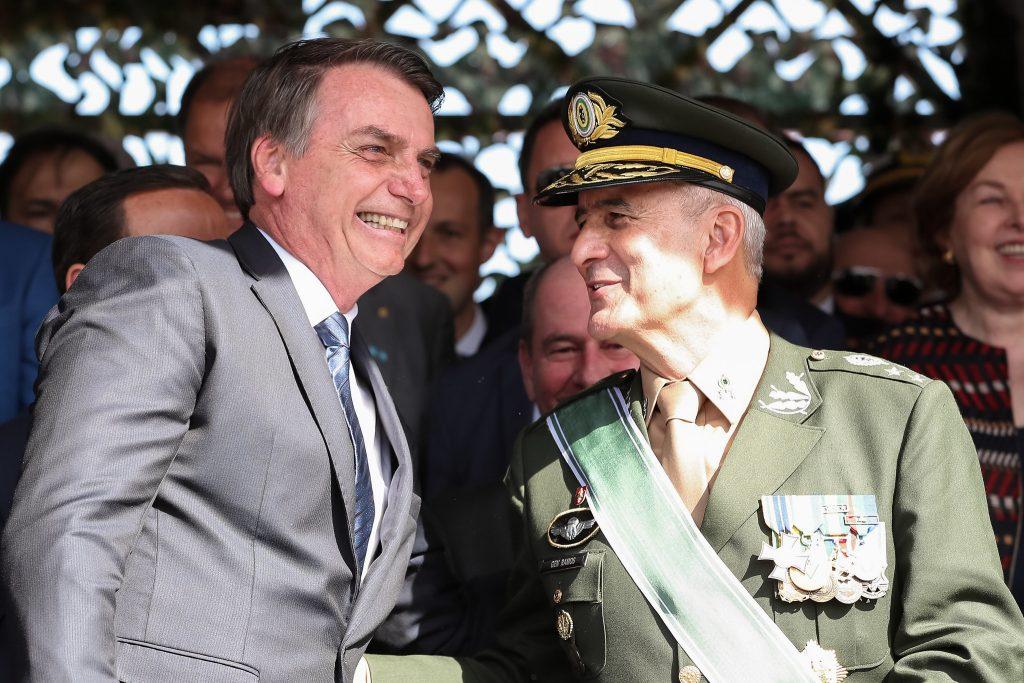 Jair Bolsonaro e o general Luiz Eduardo Ramos