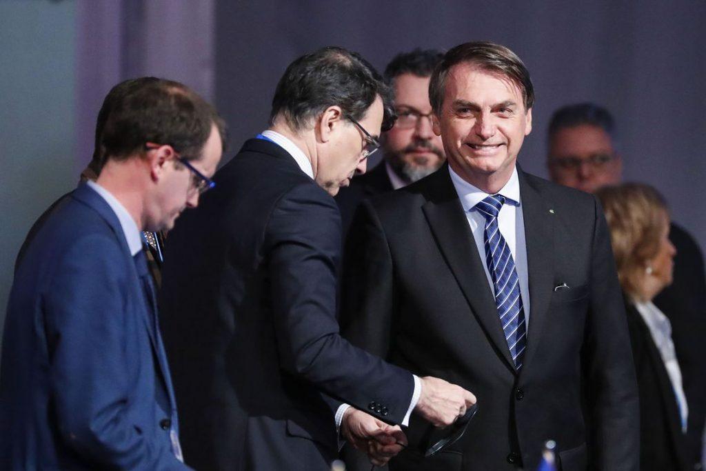 Bolsonaro durante reunião dos chefes do Mercosul - foto Alan Santos/PR/Agência Brasil
