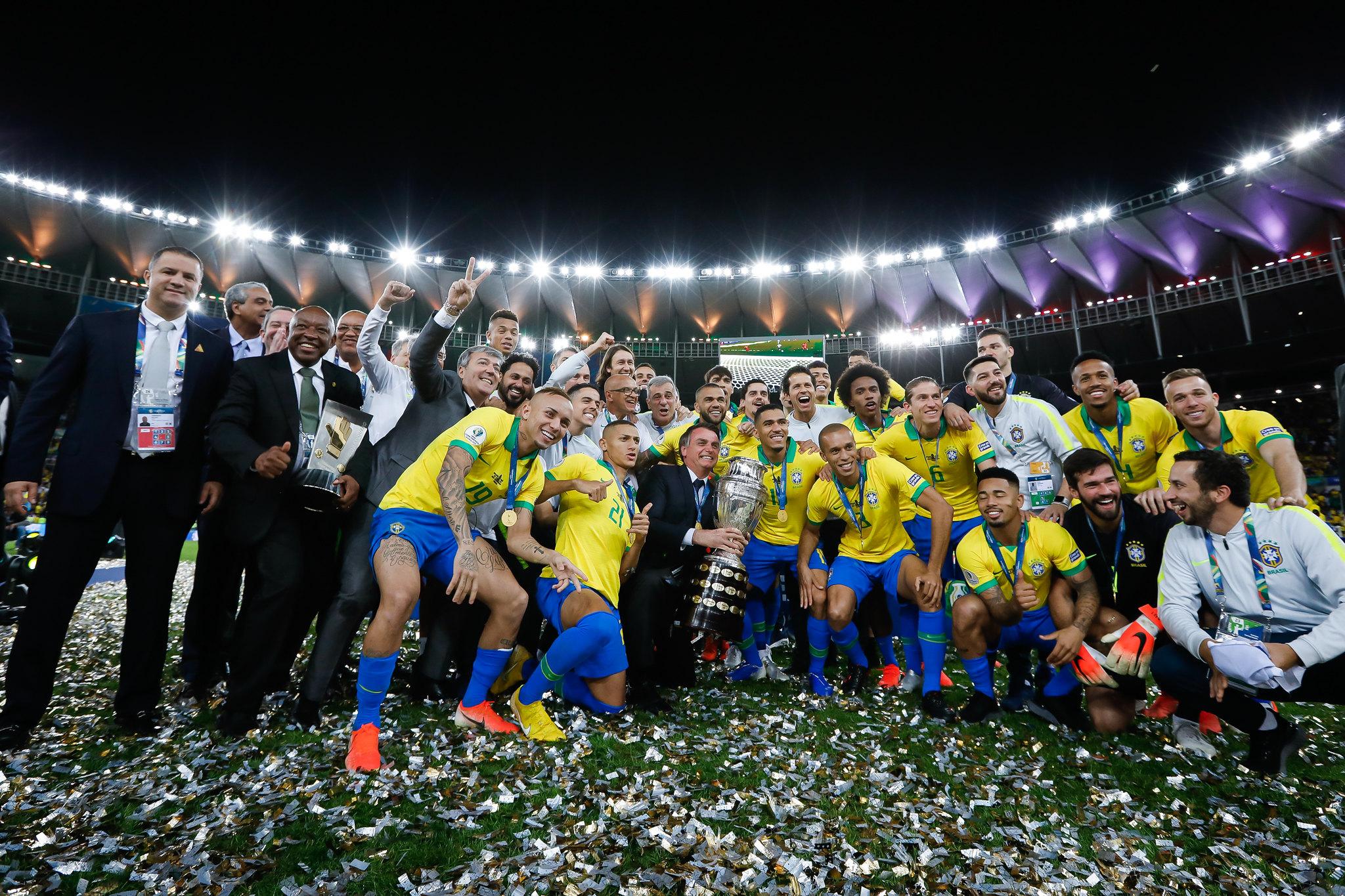 Bolsonaro Copa América
