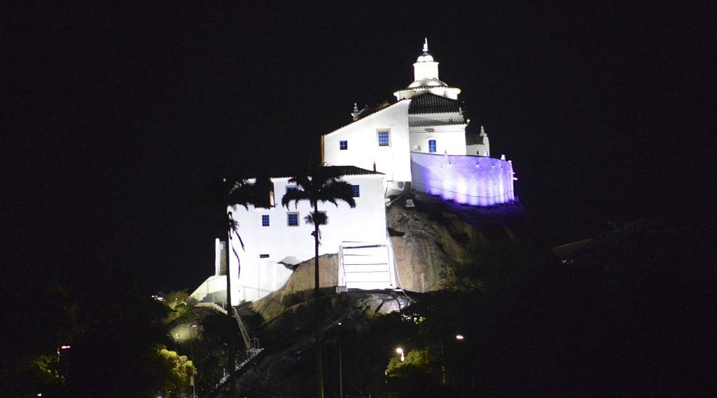 Convento da Penha, em Vila Velha. Foto: Chico Guedes