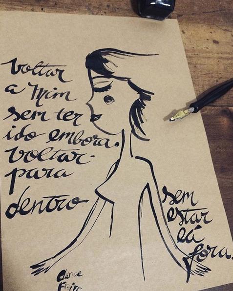 Clarice Freire investe em poesias de autoconhecimento no Instagram. Foto: Reprodução
