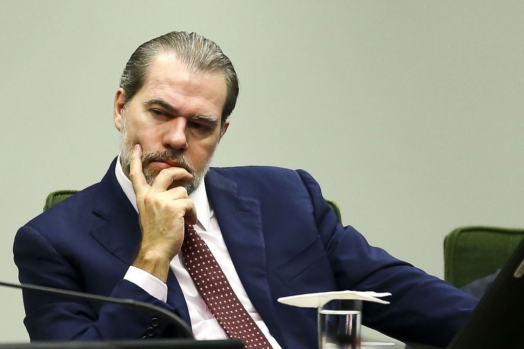 Dias Toffoli, presidente do Supremo Tribunal Federal (STF)