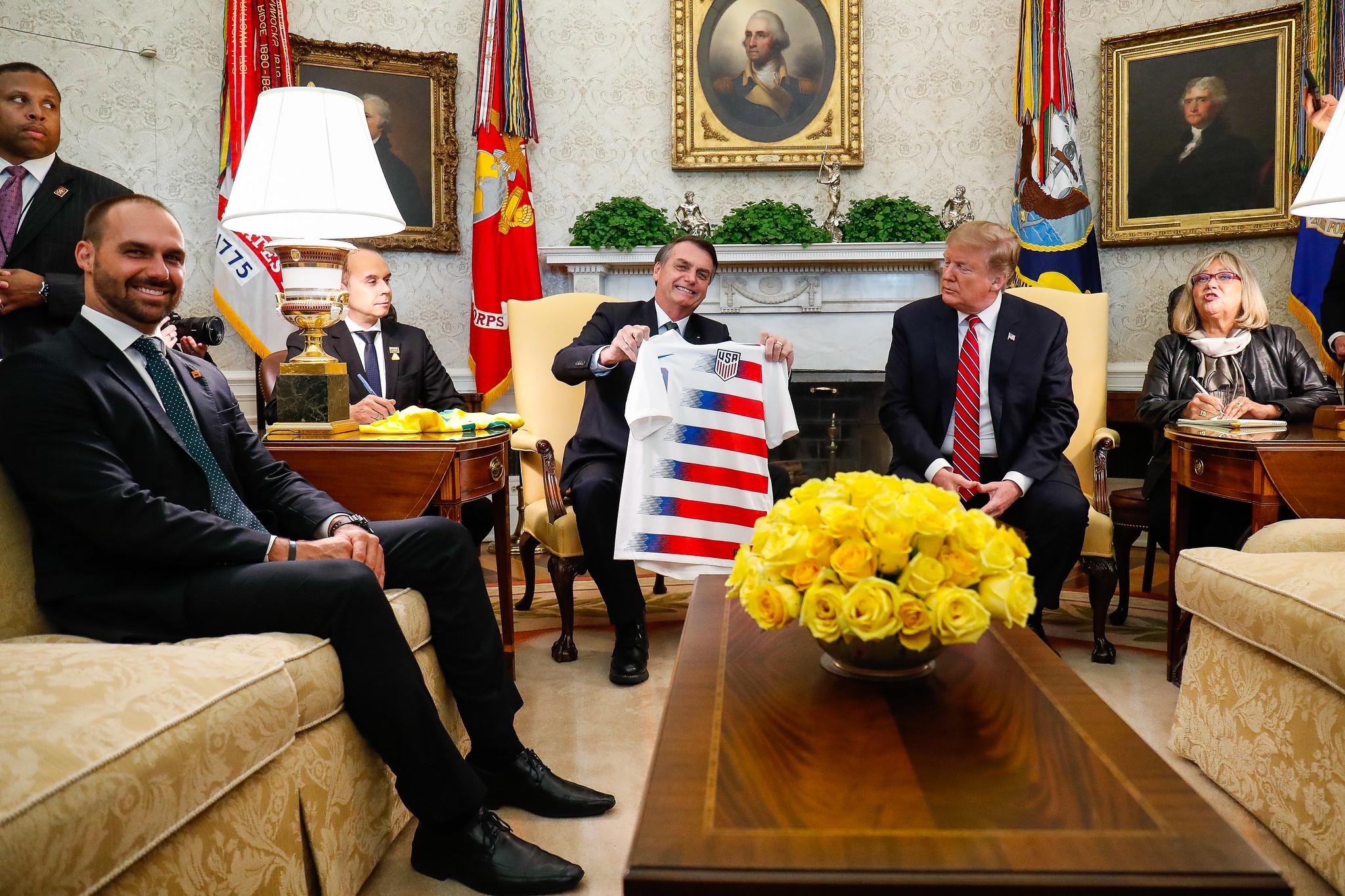 Eduardo Bolsonaro, embaixada nos EUA
