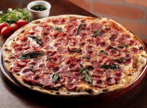 """Pizza """"Javali Speciale"""", da Figata Pizza & Birra"""