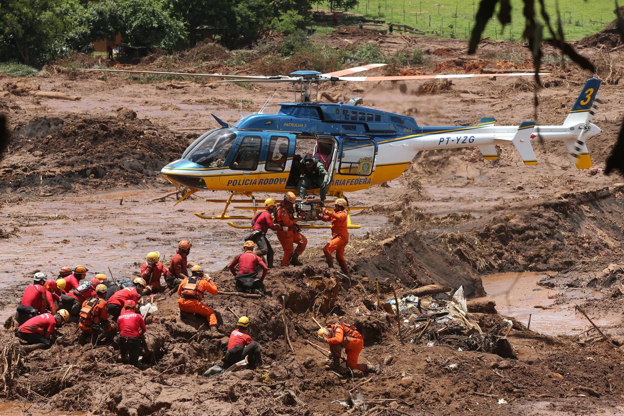 Após 2 anos de rompimento de Barragem em Brumadinho, buscas por onze vítimas continuam. Foto: Wilton Junior/Estadão