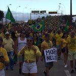 Manifestantes Terceira Ponte