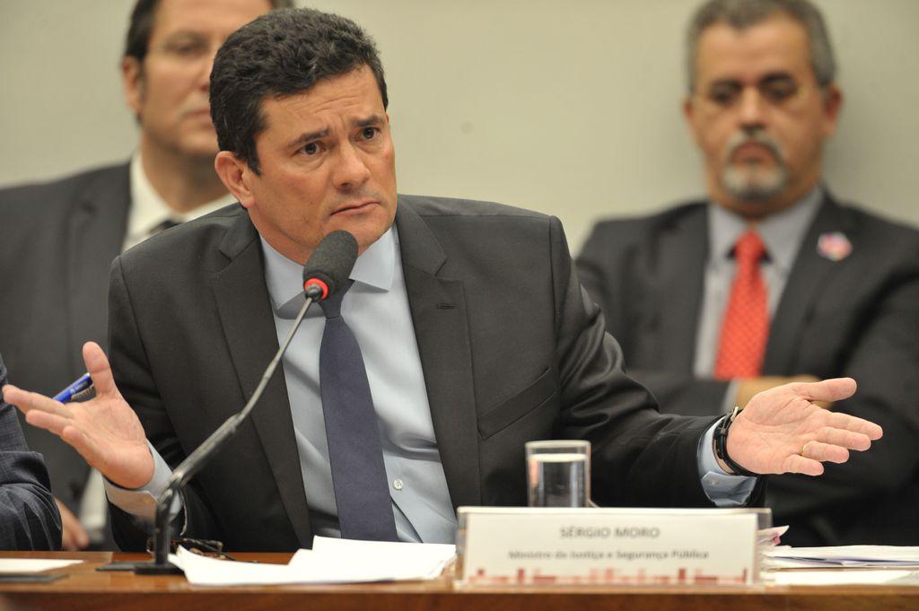 Minisitro da Justiça, Sergio Moro
