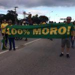 Apoio Moro protesto