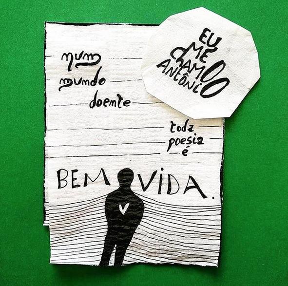Pedro Gabriel conquistou o mercado editorial por meio de suas poesias no Instagram. Foto: Reprodução