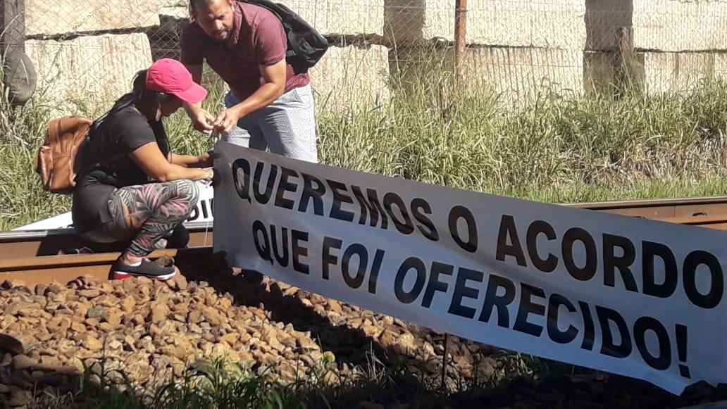 Protesto pescadores Renova