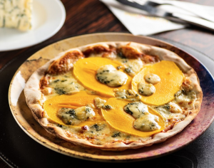 """Pizza """"Manga e Gorgonzola"""", do Salsa Pizzaria"""