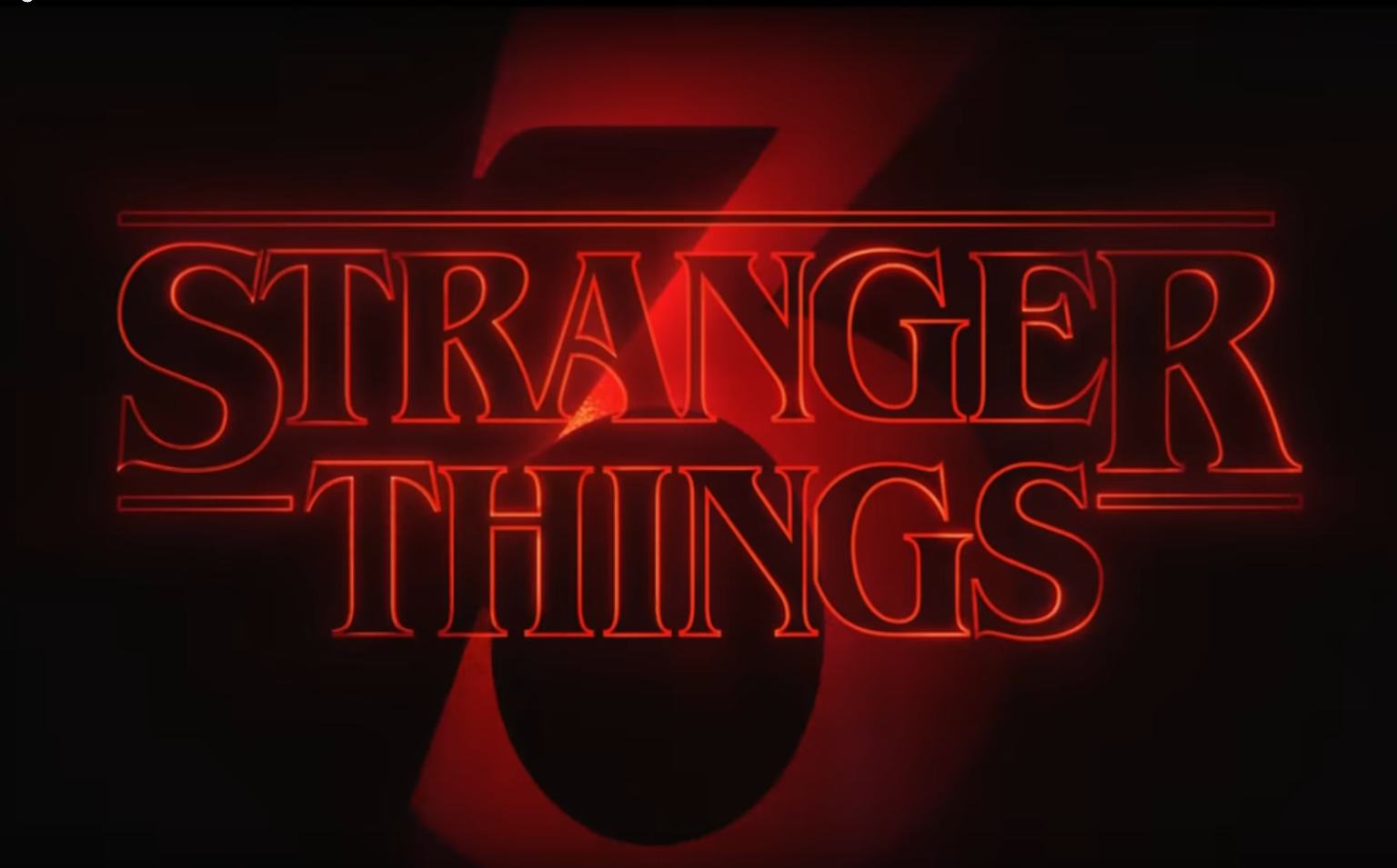 Stranger Things 3 temporada