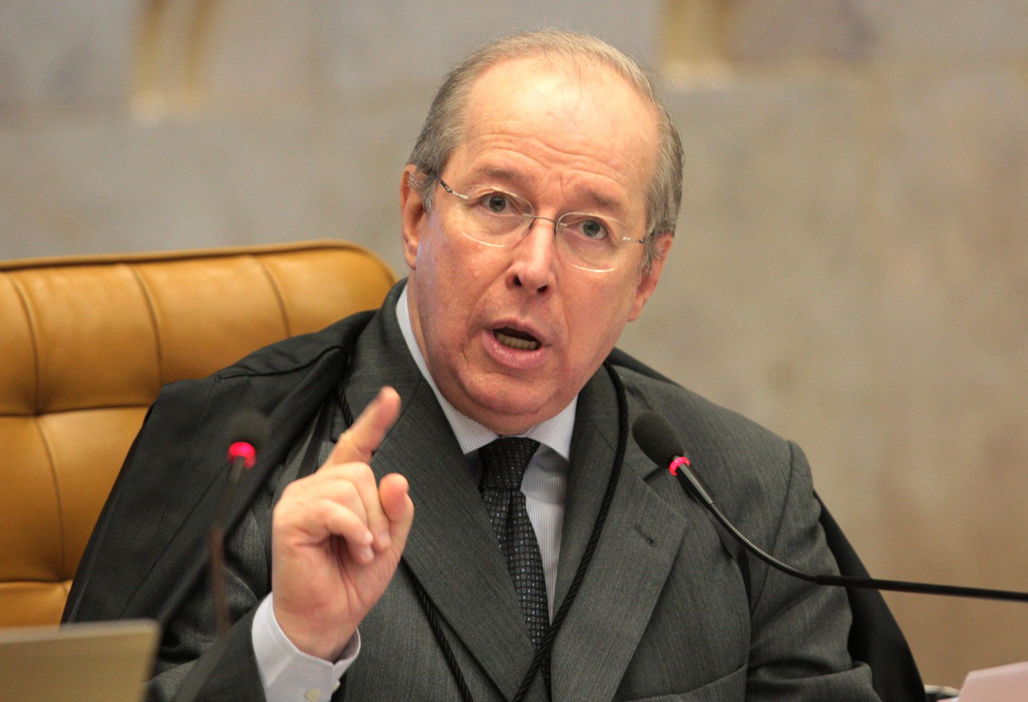 O ministro Celso de Mello tem se tornado o principal defensor do Supremo de ataques do governo e em defesa da liberdade de expressão. Foto: Carlos Humberto/SCO/STF