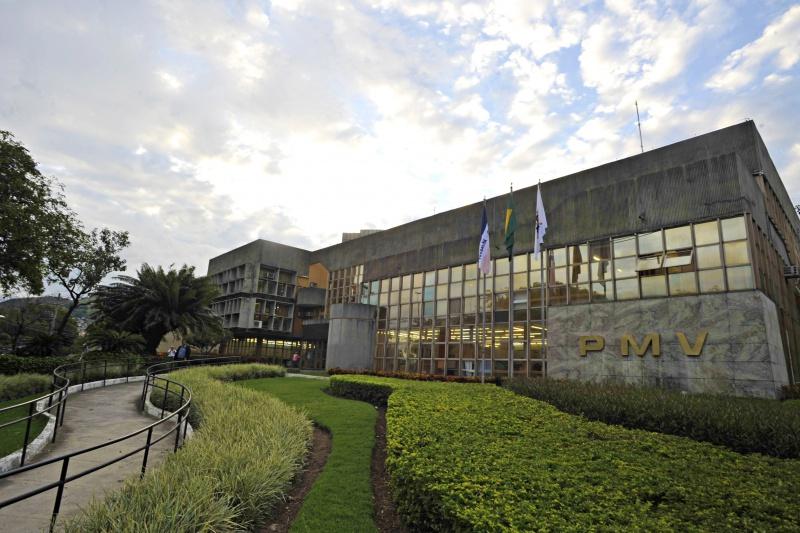Fachada da PMV - Prefeitura de Vitória
