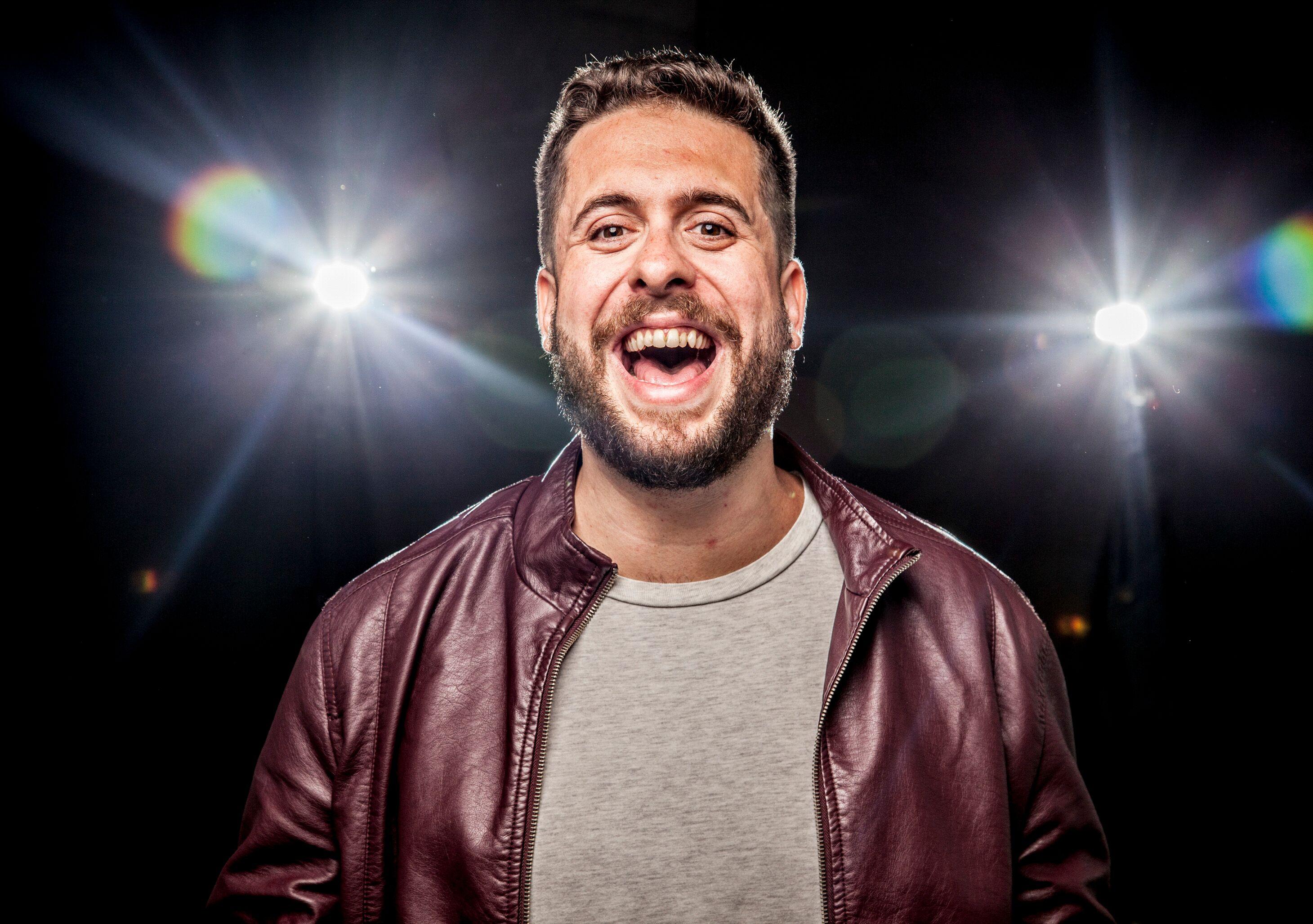 Comediante Maurício Meirelles. Foto: Divulgação