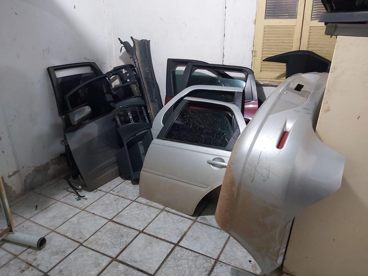 Desmanche de carros roubados na Grande Vitória é descoberto em Santa Leopoldina. Foto: Divulgação/Polícia Civil