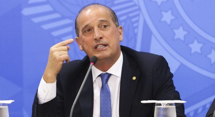 ministro-chefe da Casa Civil, Onyx Lorenzoni