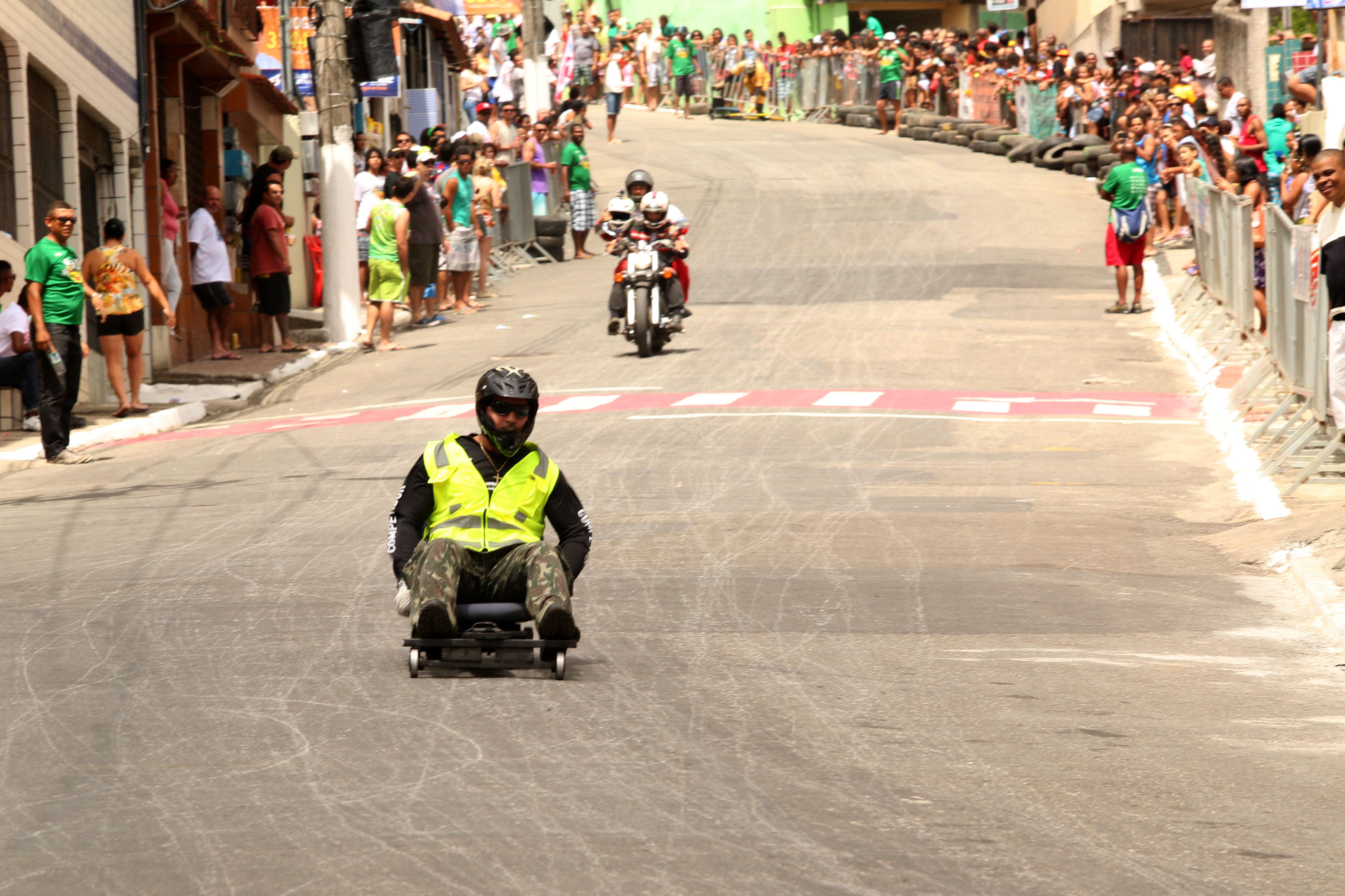 Rolimão Racing acontece no Bairro da Penha, em Vitória, neste domingo (15). Foto: Seges/PMV