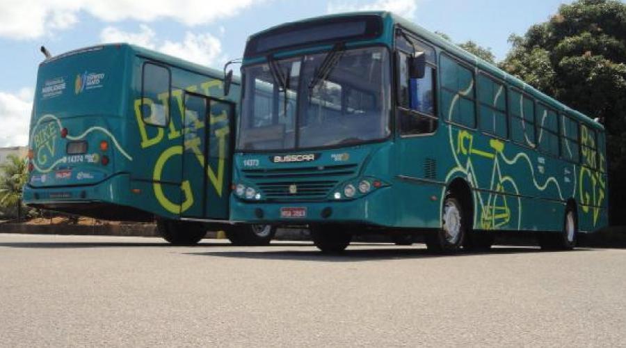 Serviço de ônibus Bike GV. Foto: Divulgação/PMVV