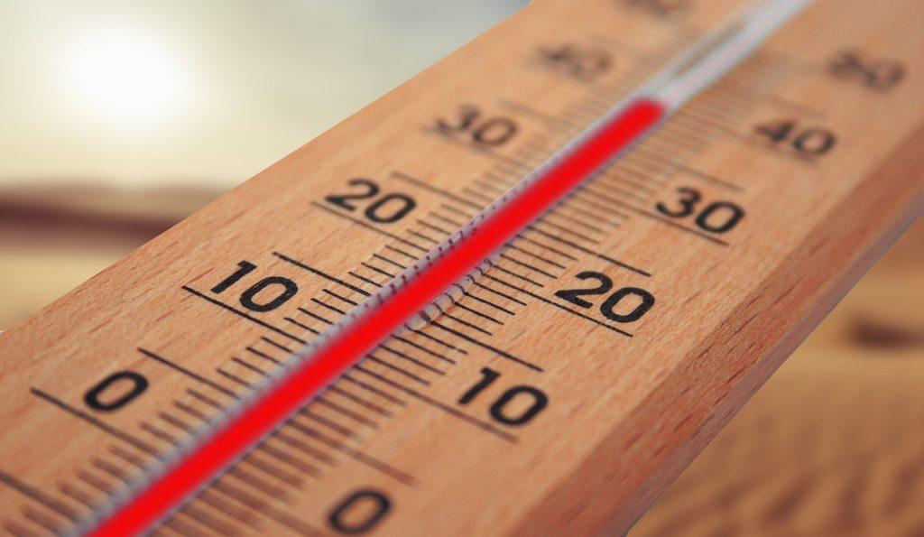 Termômetro; calor. Foto: Pixabay