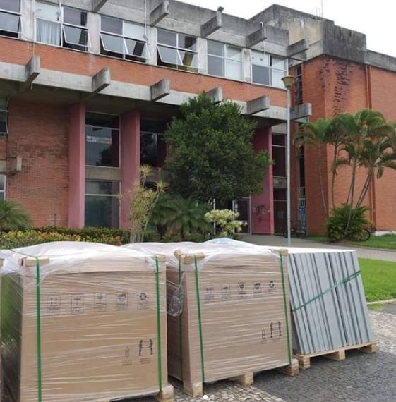 Usinas solares fotovoltaicas de produção de energia serão instaladas na Ufes, em Vitória. Foto: Reprodução/Instagram