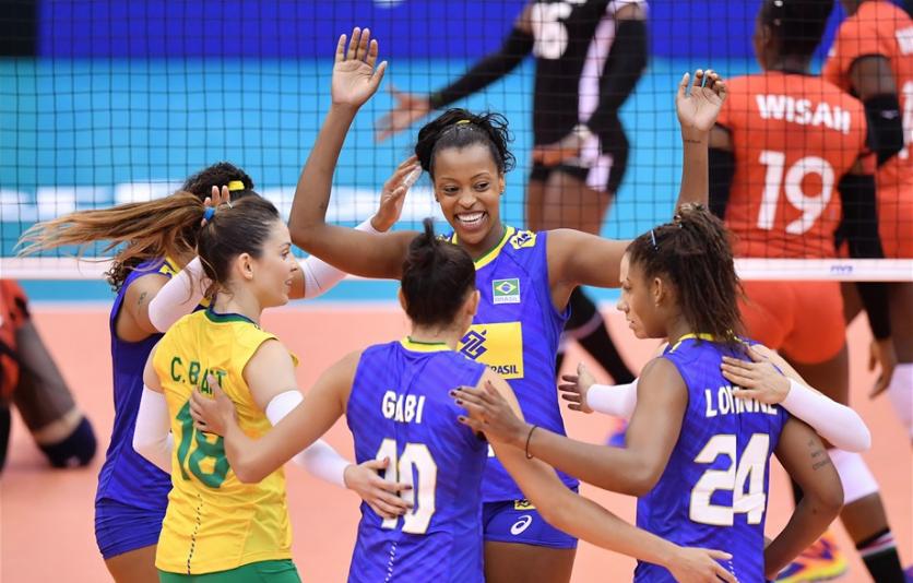 Vôlei feminino Brasil x Quênia