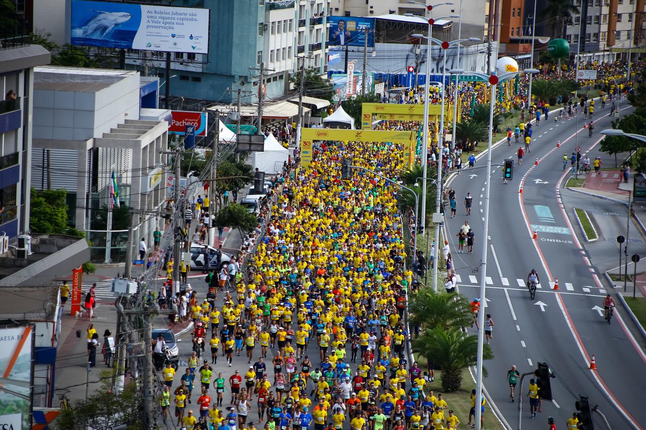 Dez Milhas e Corrida Garotada tiveram, juntas, 14 mil inscritos. Fotos: Adessandro Reis/ Divulgação