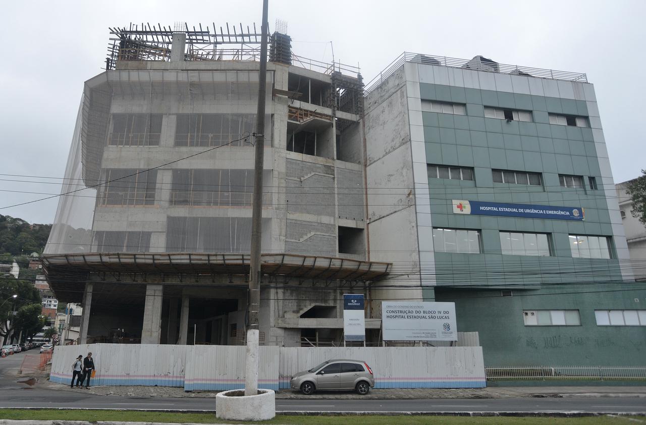 Hospital Estadual de Urgência e Emergência vai ganhar um novo pronto-socorro e heliponto. Foto: Chico Guedes
