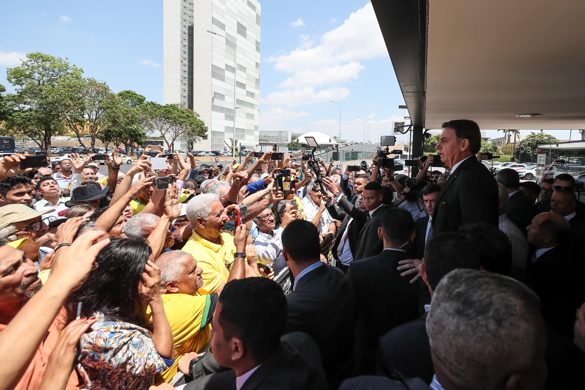 Encontro entre o presidente Jair Bolsonaro com grupo de Garimpeiros no Palácio do Planalto. Foto: Isac Nóbrega/PR