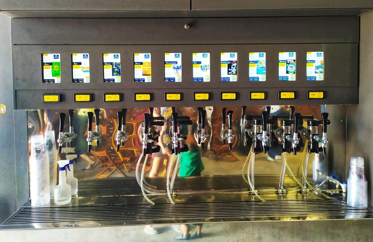 Cervejarias do estado tem torneiras com várias opções de estilo. Foto: Leticia Orlandi
