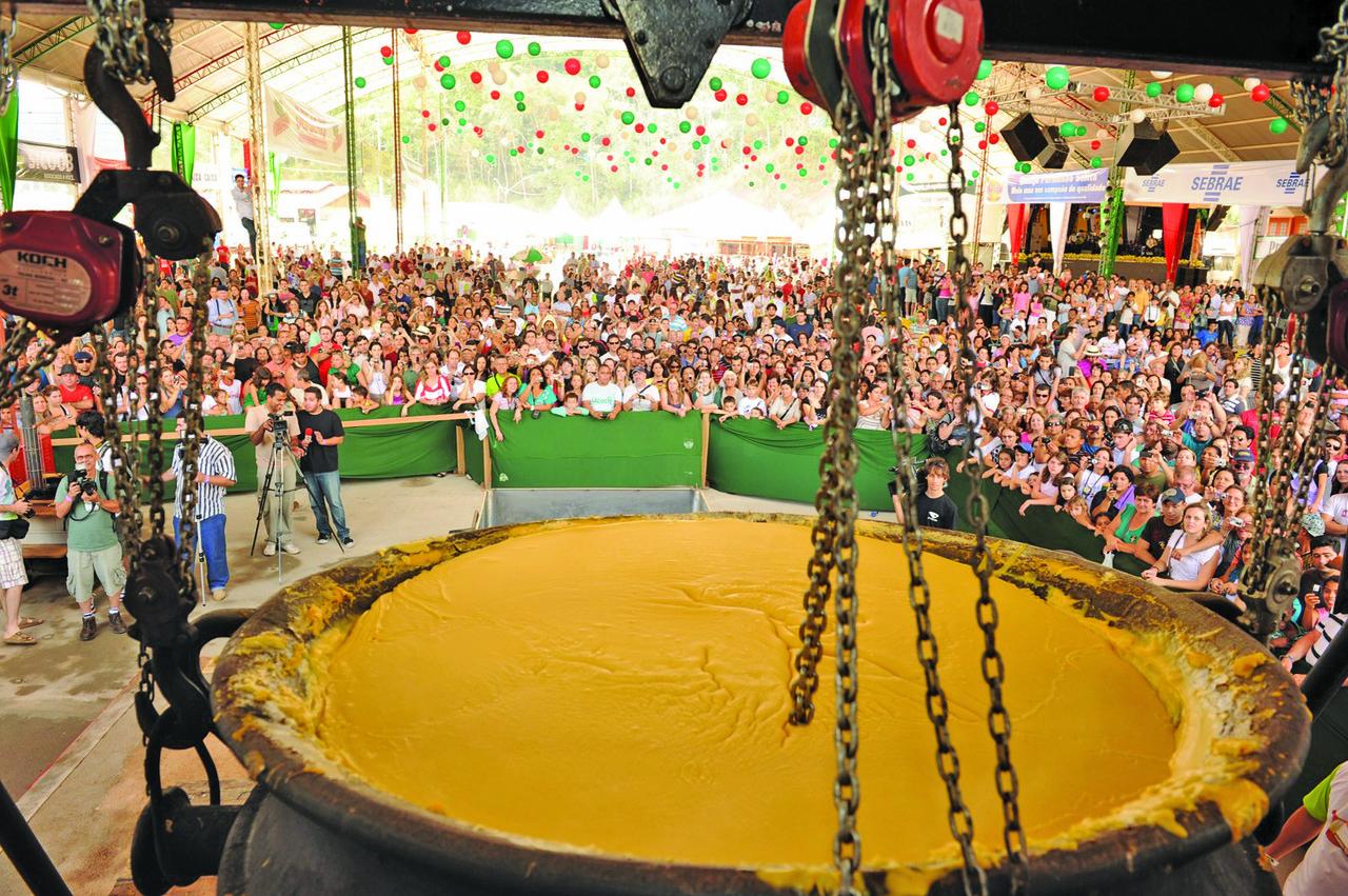 A Festa da Polenta acontece neste final de semana em Venda Nova do Imigrante. Foto: Divulgação