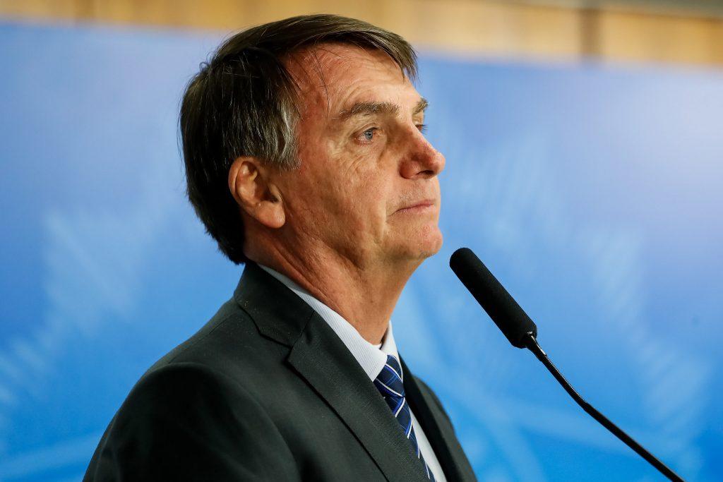 """Bolsonaro diz que não deixará o PSL por """"livre e espontânea vontade"""". Foto: Alan Santos/PR"""