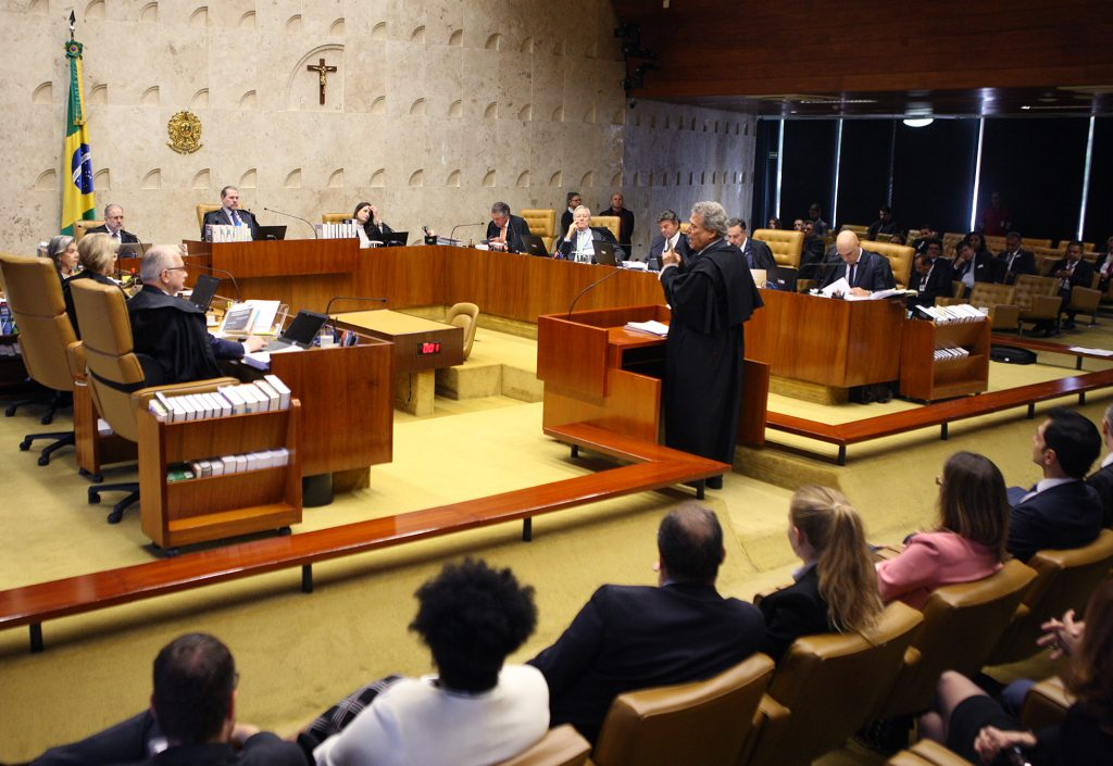STF retoma nesta quinta julgamento sobre prisão em segunda instância. Foto: Nelson Jr./SCO/STF