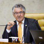 Relator das ações, o ministro Marco Aurélio profere seu voto no julgamento sobre prisão em segunda instância. Foto: Rosinei Coutinho/SCO/STF