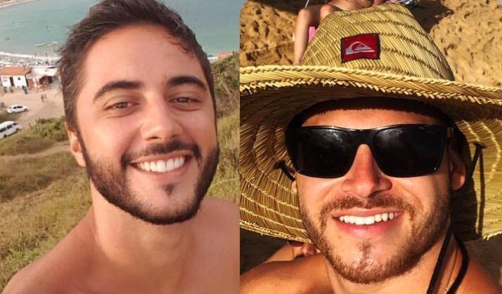 Matheus Fardin e Gustavo Fracarolli morreram em acidente na Avenida Dante Michelini. Foto: Reprodução/Instagram