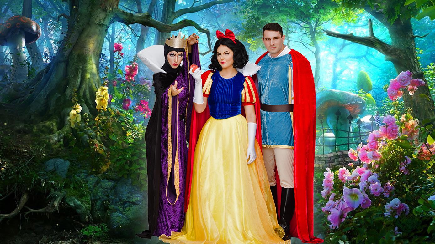 Cinderela e outros personagens estarão em peça. Foto: Divulgação