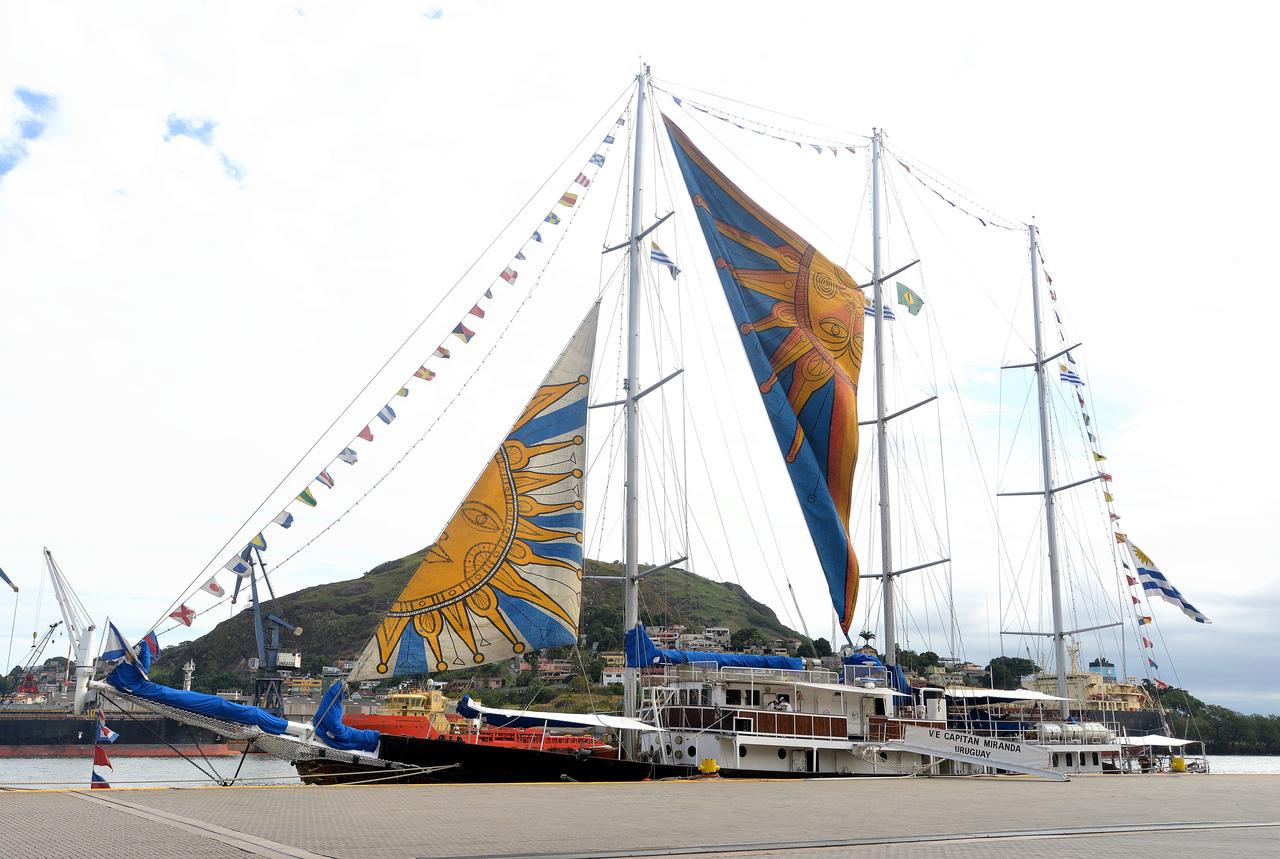 O veleiro retorna para o Uruguai no sábado. Foto: Chico Guedes