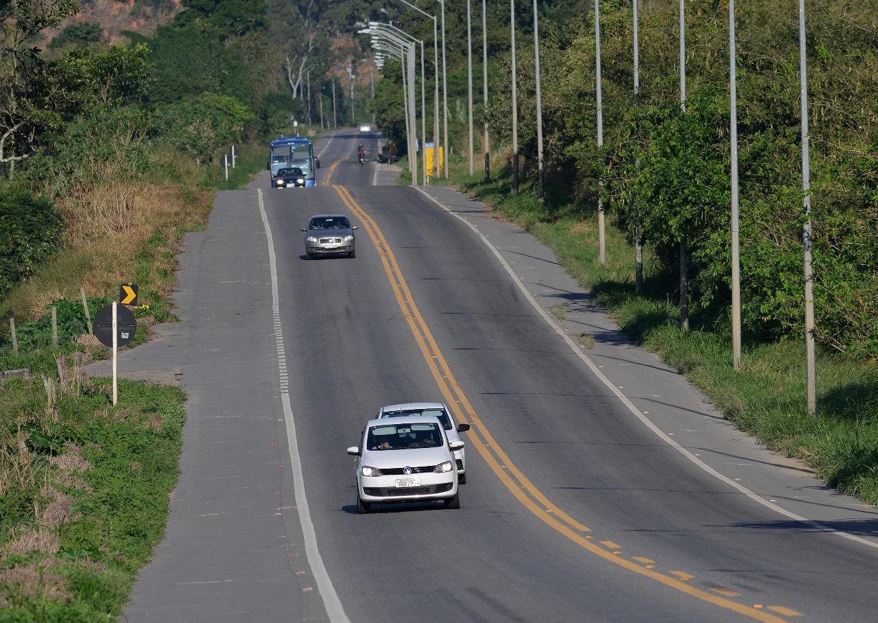 Trecho da BR 262. Foto: Chico Guedes