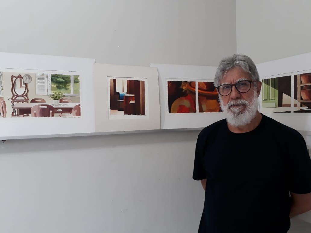 'Estou homenageando pessoas que tem a ver com a minha história', conta oa rtista Wagner Veiga. Foto: Divulgação