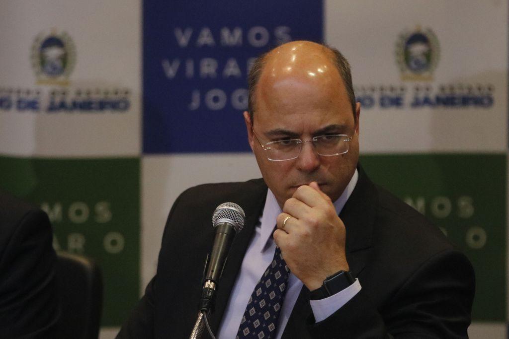 Escritório de primeira-dama intermediou suposta propina para Witzel, diz PGR. Foto: Fernando Frazão/Agência Brasil