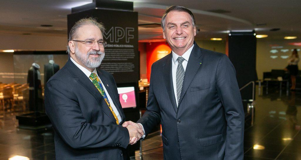Fora da agenda, Bolsonaro se convida para ir à PGR encontrar Augusto Aras. Foto: Antonio Augusto/Secom/PGR