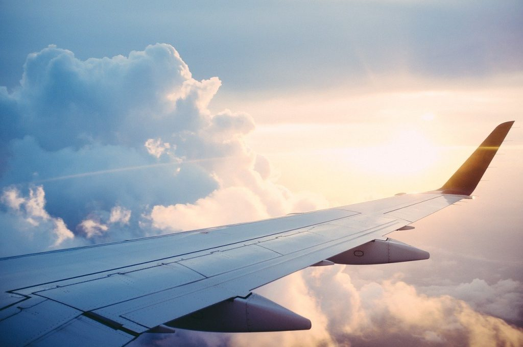Avião. Foto: Pixabay