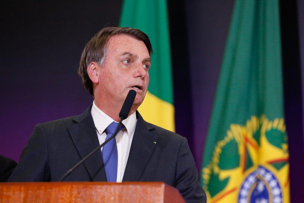 Bolsonaro é denunciado a tribunal Internacional por incitar genocídio indígena. Foto: Carolina Antunes/PR.