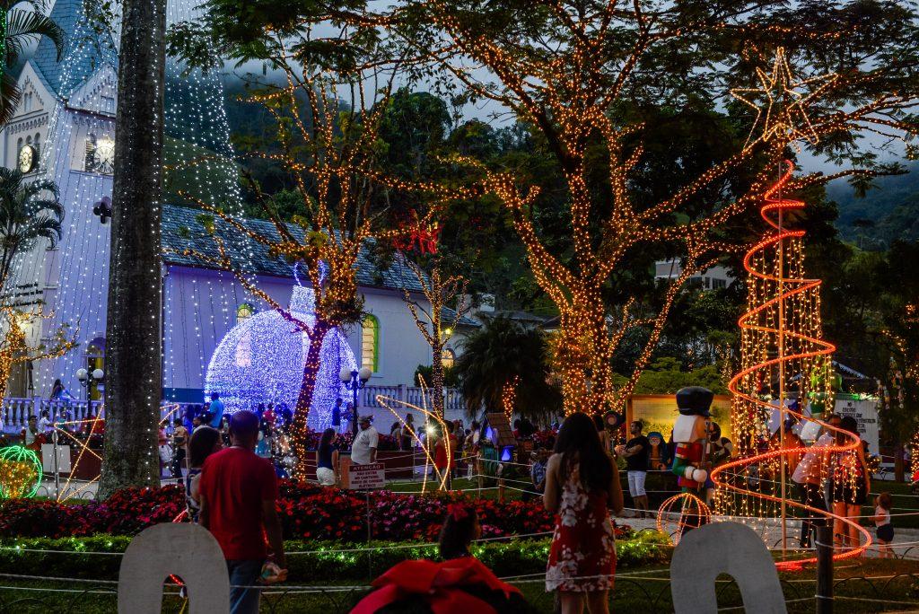 Brilho de Natal em Domingos Martins. Foto: Divulgação/Prefeitura de Domingos Martins