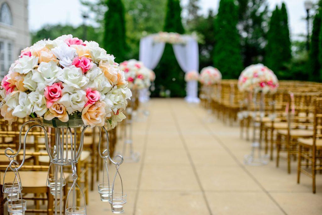 Cerimônia de casamento ilustrativa. Foto: Pixabay