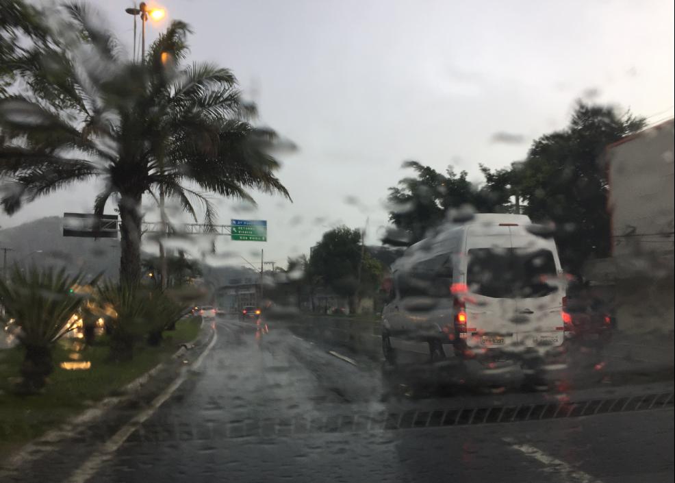 Chuva em Cariacica. Foto: Lucas Calazans/Prefeitura de Cariacica