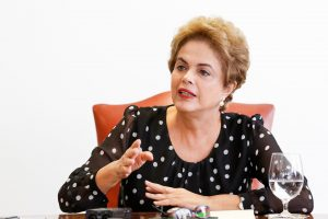Maia, Baleia Rossi, Lula, FHC e Ciro condenam ataque de Bolsonaro à Dilma. Foto: Roberto Stuckert Filho/PR